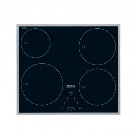 MIELE KM 6115 Induction hob with onset controls with 4 cooking zones